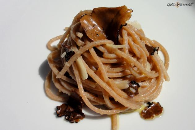 Gusto Per Amore (F) - Spelt spaghetti with black truffle -Secoli d'Amore
