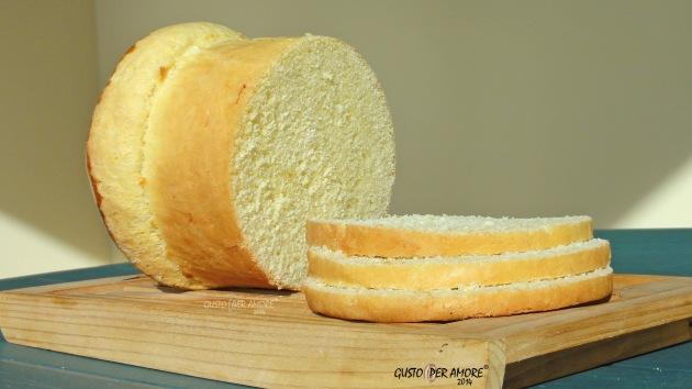 Brioche bread is a soft white bread perfect for making sandwiches.