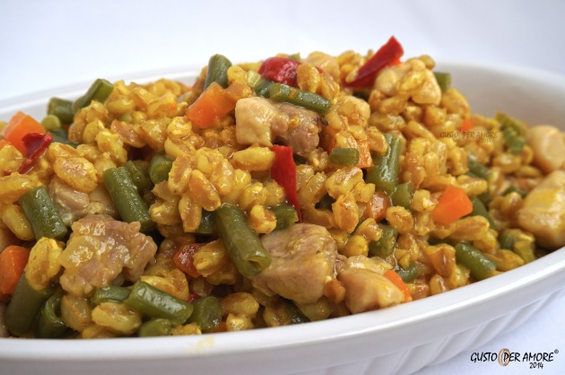 3 Arroz con pollo - Recipes with olive oil - Gusto per Amore