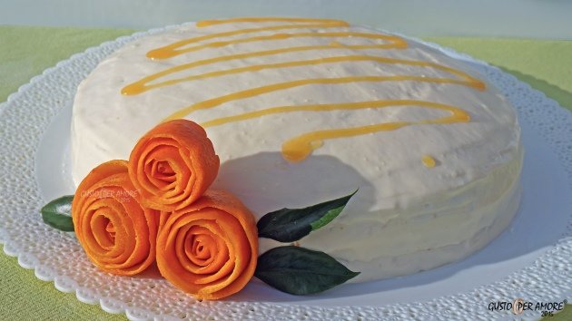orange cake - recipes with olive oil - gusto per amore