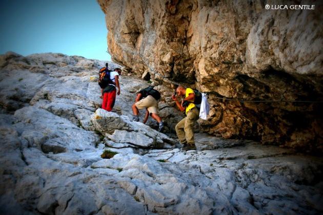 Gran Sasso climbing, corno grande