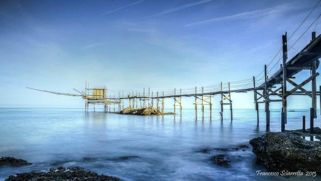 La costa dei trabocchi, la costa abruzzese