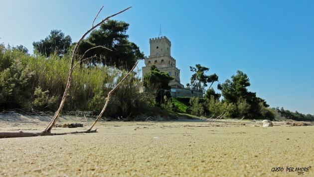 torre del cerrano pineto beach