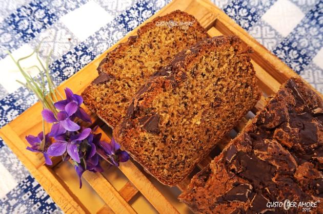 banana bread recipe - recipes with olive oil - gusto per amore