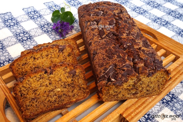 easy banana bread recipe - recipes with olive oil - gusto per amore