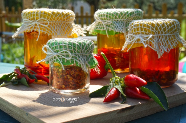 How to preserve chili peppers, here you can find two recipes : dried hot peppers or chili infused  extra virgin olive oil