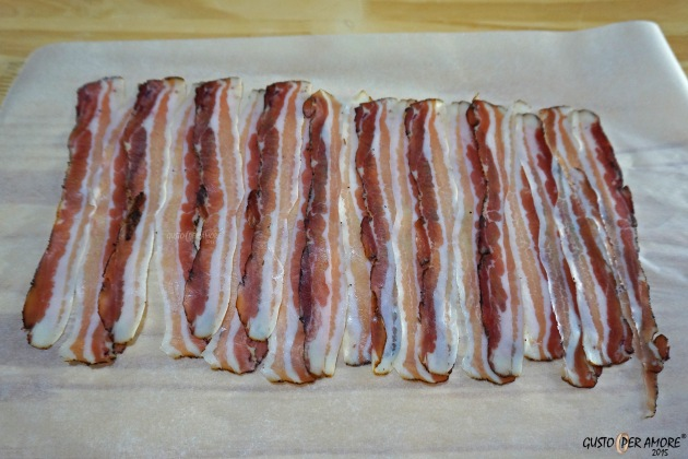 bacon recipes - recipes with olive oil - gusto per amore