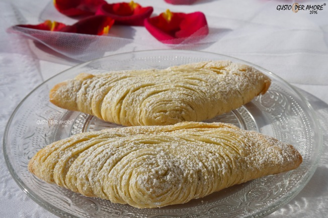 sfogliatelle abruzzesi recipe - recipes with olive oil - gusto per amore